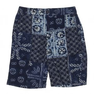 Polo by Ralph Lauren Navy Batik Shorts Boy's 8